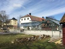 Sweden Green House levererar ett växthus till Handelsträdgården Löfsta slott