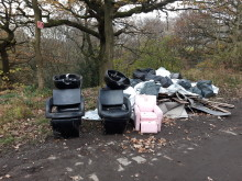 Can you help us catch these fly-tippers?