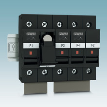 Fuse terminal blocks up to 1000 V