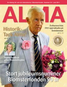Alma - Blomsterfondens medlemstidning nr. 34