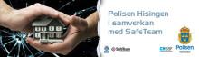 SafeTeam och Polisen Hisingen informerar om hur du tryggar ditt hem