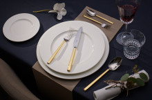Luxury close enough to touch – High-quality cutlery in silver-plated and partially gold-plated versions.
