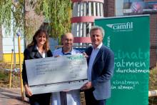 Luftfilterhersteller Camfil spendet UKSH-Kinderklinik am Campus Lübeck 6.000 Euro