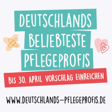 Deutschland beliebteste Pflegeprofis: Nominierungsphase läuft