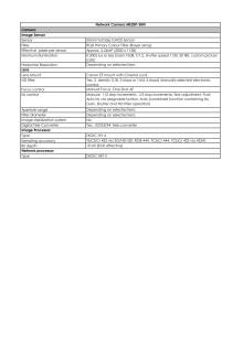 Canon Tekniska specifikationer ME20F-SHN