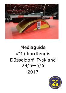 Mediaguide VM Düsseldorf 2017, Bordtennis