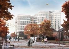Konsept for nytt sykehus på Aker levert