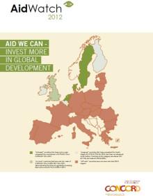 Aid Watch-rapporten 2012: EU:s biståndslöften svikna av stora medlemsstater