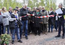 Tranås Energis nya fiskväg är invigd