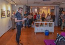 Fotoklubbens jubileumsutställning invigdes av Arne Johnsson