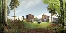Nya student- och forskarbostäder i Luleå när Akademiska Hus säljer mark till Lindbäcks