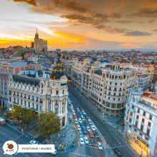 Fyra stadsdelar i Madrid som du inte ska missa!