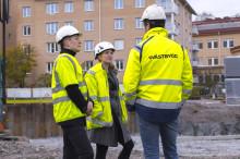 Wästbygg och Beteendelabbet samarbetar kring miljön på byggarbetsplatser