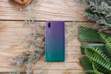 Inspirerad av norrsken:  Huawei P20 släpps i den populära färgen Twilight
