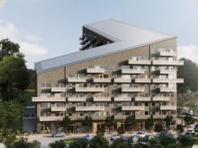 Tuve Bygg bygger för Framtiden Byggutveckling på Beväringsgatan