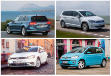 Volkswagen blev Danmarks mest solgte bilmærke i 2018