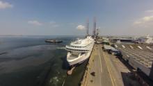 Scandlines' to skibsskrog ankommet til FAYARD