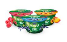 Yoghurtkvargen Activia PRO kombinerar högt   proteininnehåll med probiotika