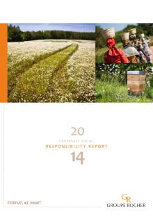 Yves Rocher hållbarhetsrapport 2014