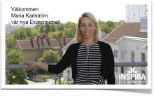 MARIA KARLSTRÖM NY EKONOMICHEF PÅ INSPIRA