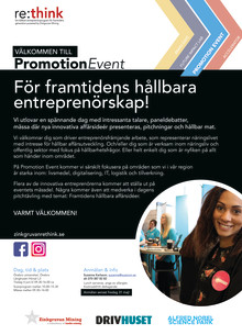 Zinkgruvan re:think – Promotion Event 4 juni!