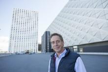 Peter Lundström bygger banorna på Breeders Trophy