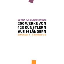 Flyer Kunstausstellung und Auktion am Goetheanum 2018