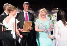 Tyréns delar ut pris på Kirunagalan
