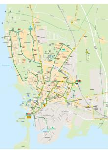 Linjenät för Landskronas stadsbussar