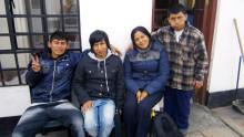 Sembrando Esperanza Peru, Fritidsagenturen och Platsen tilldelas Folkuniversitetets stipendium