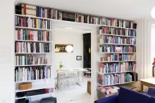 En liten bokhylla eller ett alldeles eget bibliotek
