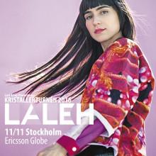 Hovet utsålt - Lalehs konsert flyttas till Ericsson Globe
