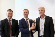 Renault Danmark - Danmarks bedste bilimportør for 3. gang i træk