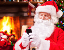 BT staff in the West Midlands answer charity call from Father Christmas