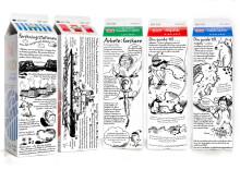 Polarforskning på mjölkpaketen