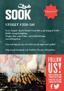 Modern mat från Mellanöstern lockar juryn i Streetfood SM 2014