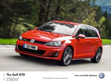 Get into the new Volkswagen Golf GTD for under £200 a month