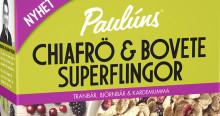Paulúns lanserar glutenfria frukostflingor