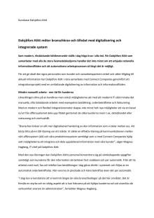 Dalsjöfors Kött möter branschkrav och tillväxt med digitalisering och integrerade system