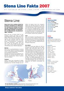Pressinformation - Det här är Stena Line