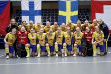 U19-damlandslaget överlägset i avgörande matchen i Euro Floorball Tour