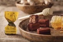 La Perla chokladtryffel med djup honungssötma och kryddig ingefära