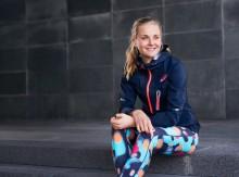 ASICS i nytt samarbete med skidstjärnan Stina Nilsson