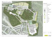 Sundbybergs stad går vidare med Temas förslag i utvecklingen av Miloområdet