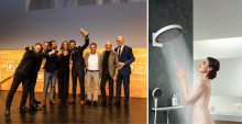 Gyllen aften for hansgrohe: Rainfinity vinner iF DESIGN AWARD 2019