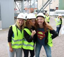 Energi på sommarlovet när Växjö Energi erbjuder sommarkurs för tjejer