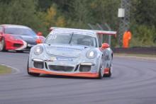 Porsche-kvartett mästare när Swedish GT avslutades på Mantorp Park