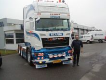 Ny Scania R 580 V8 til Stig Rasmussen