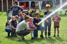 Kinder-Tobe-Tag mit dem THW