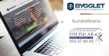 Kundreferens: Bra support och enkel projektöversikt värdefullt för DM Plåt